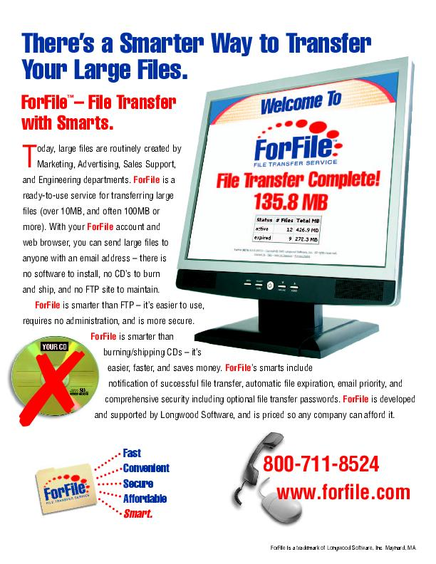 ForFile Flyer